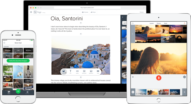 Adobe Spark – Turn your ideas into impactful social graphics, web stories and animated videos—in minutes.