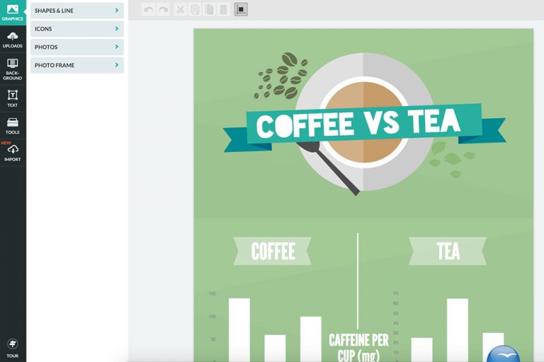 Create beautiful infographics in less than 10 minutes