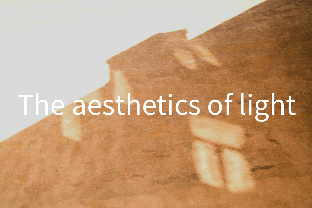 The aesthetics of light