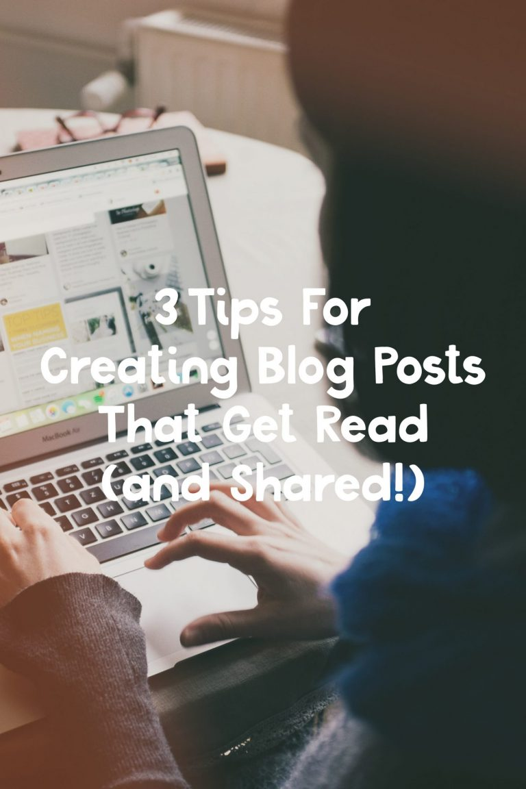 """Starting a blog can fuel a lot of emotions. There is the general excitement of starting a new project, the fear of will it be successful, the overwhelm of a lengthy to-do list, and the determination to grow your audience… just to name a few. A common thought when you start blogging, is """"okay, where are my readers?"""" You spend hours crafting a post, taking pictures, researching topics, etc. but how do you ensure that your blog posts actually get read, and perhaps more importantly, get shared?"""