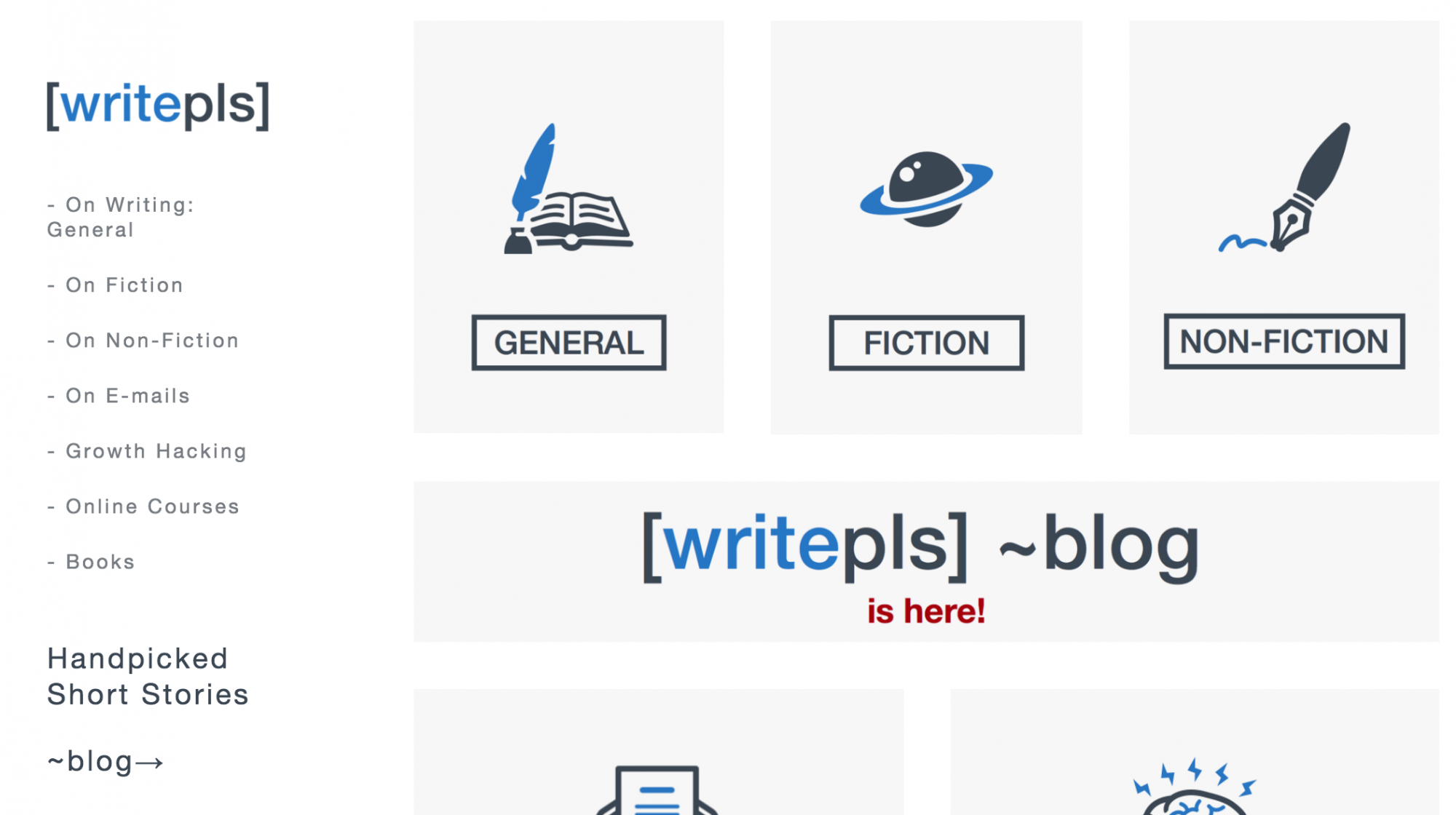Writepls – A curated list of articles to help you write