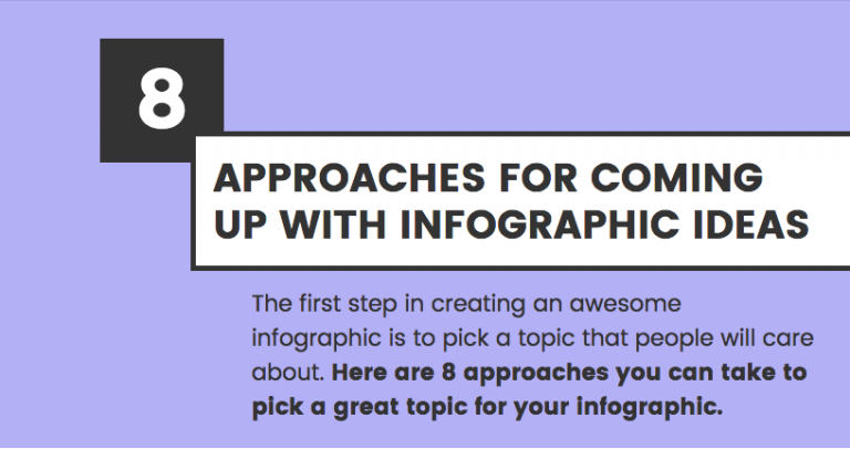 An example of an infographic header that doesn't make use of any form of photography.