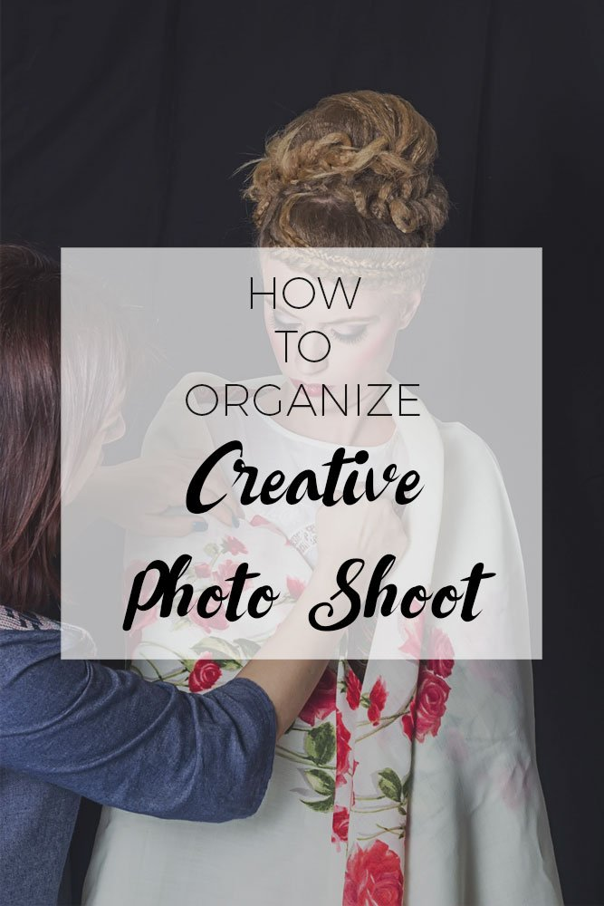 How to organize a creative photo shoot