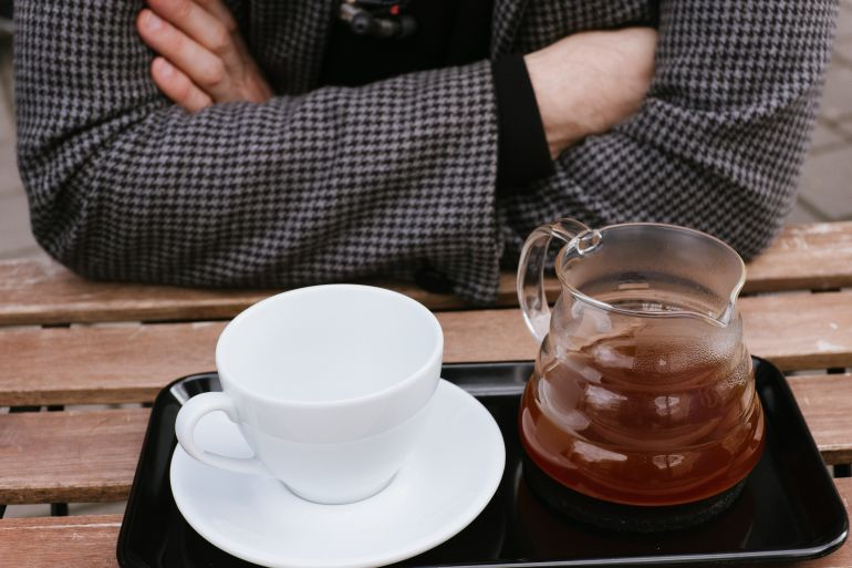 Coffee in Hario kettle