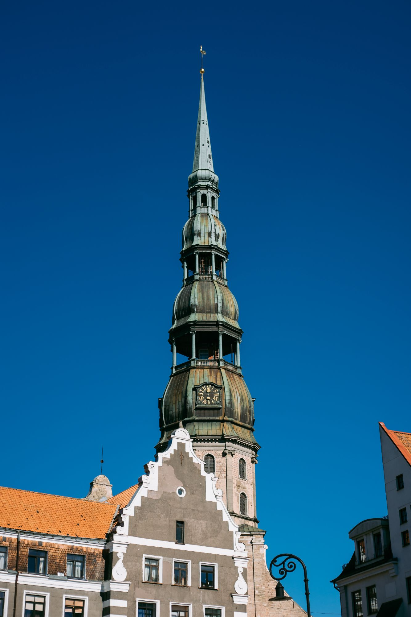 St Peters Church In Riga Latvia Free Photo On Barnimages