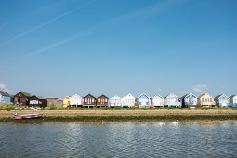 Summer houses in Christchurch, Bournemouth