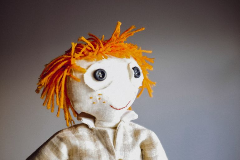 Red headed doll