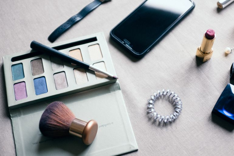 Cosmetics and iPhone