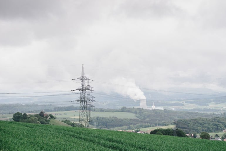 Leibstadt Nuclear Power Plant from a distance