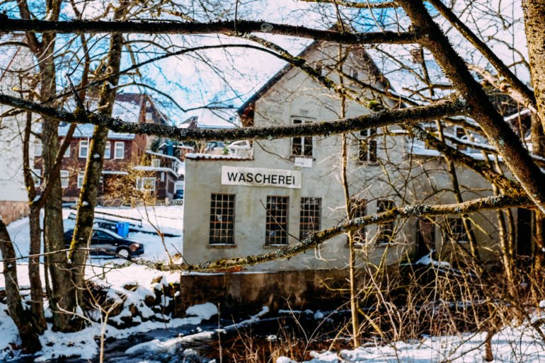 Old house in Braunlage, Germany