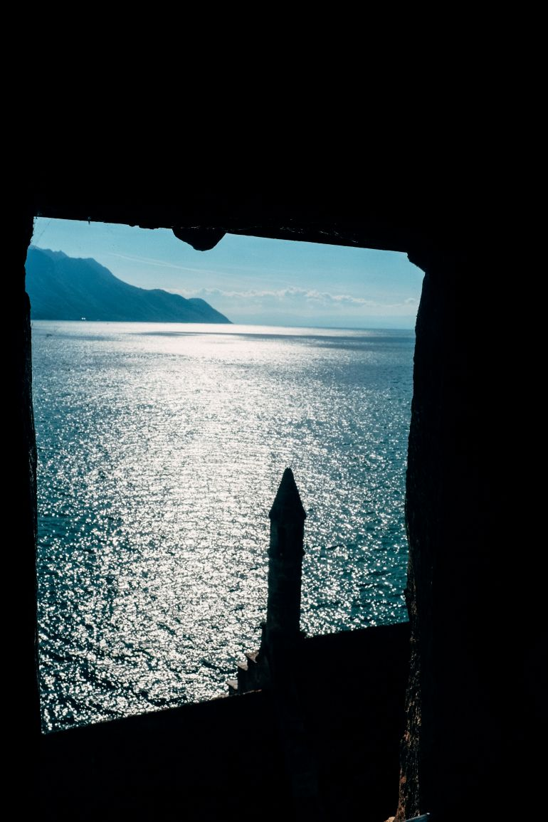 View from the Chillon castle