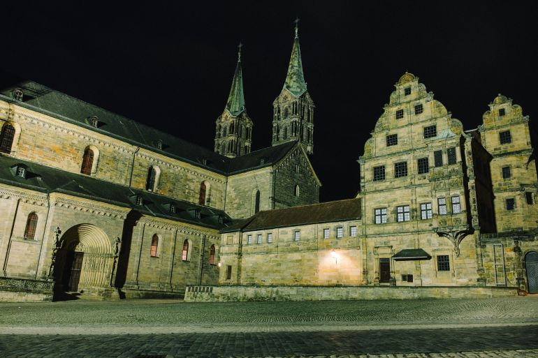 Cathedral Square in Bamberg