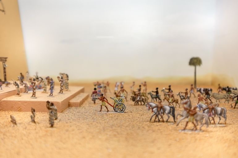 Ancient Egypt toy figures