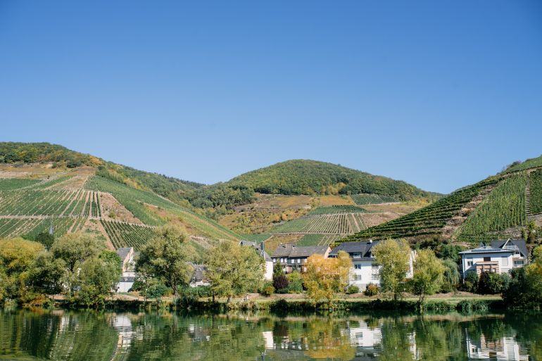 Village in the Moselle Valley