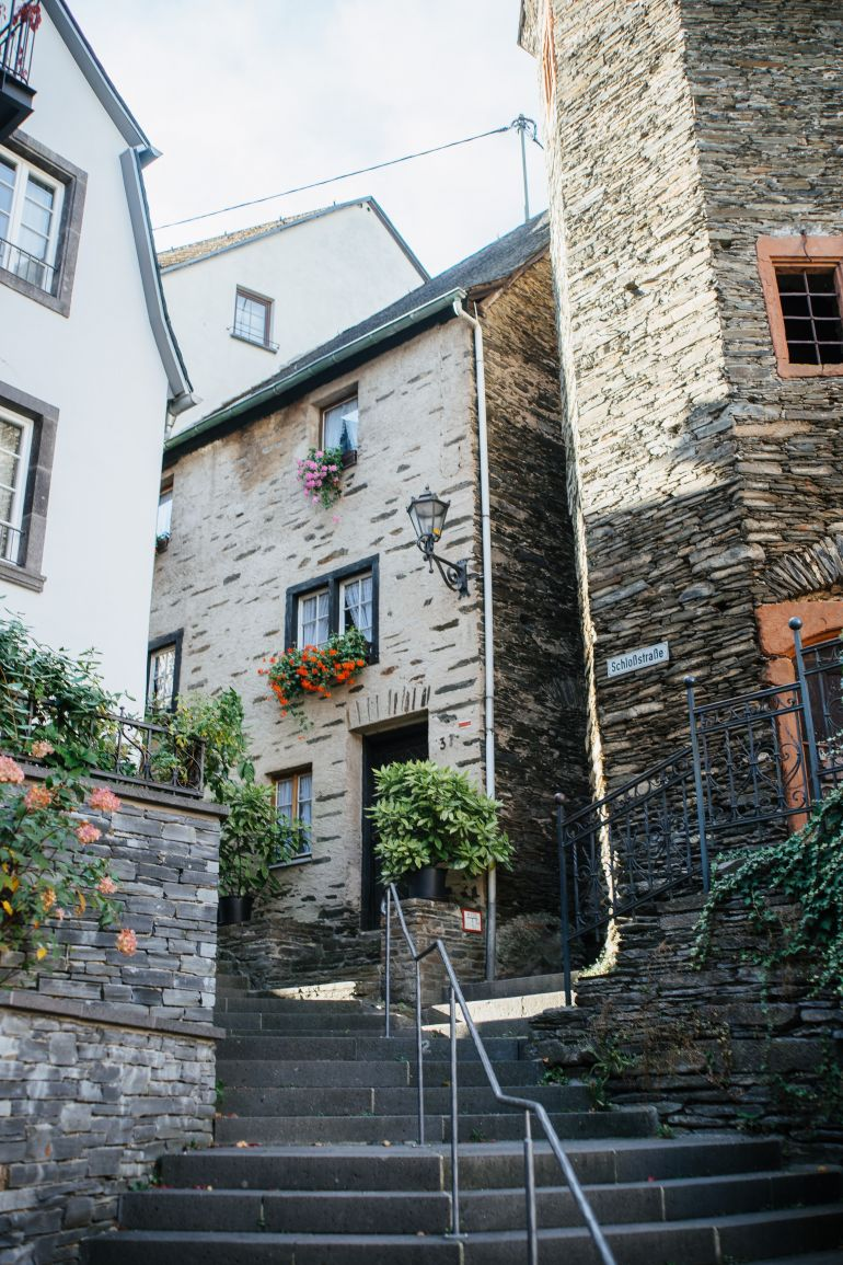 Old houses in Beilstein, Germany