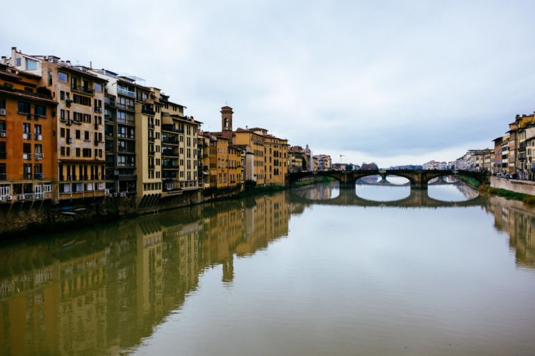 Waterfront in Florence