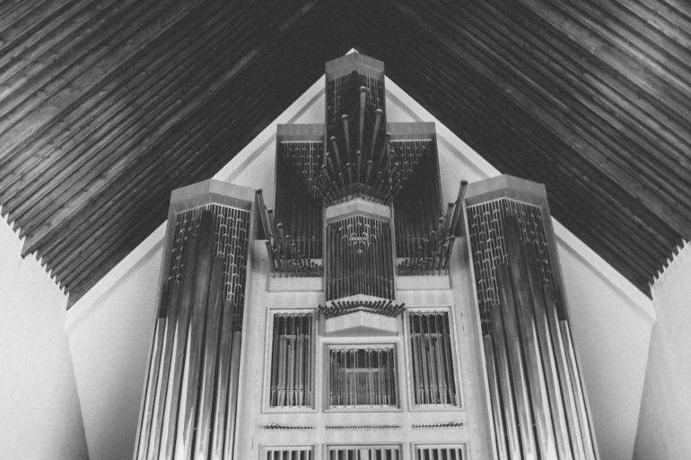 Modern church organ